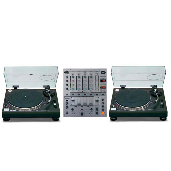 technics 1210 djm900 package